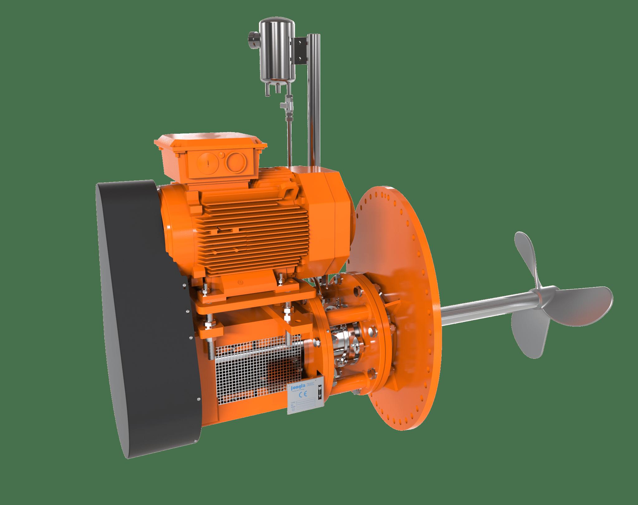 Heavy duty side-entry roerwerken