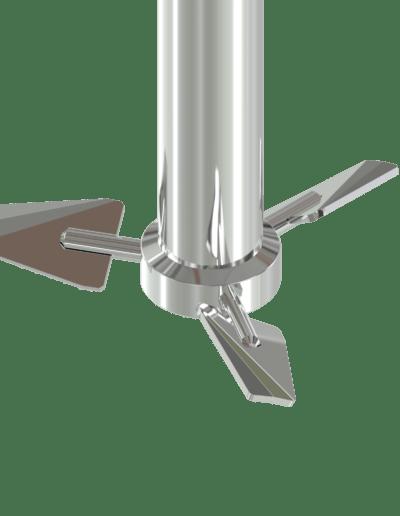 Hydrofoil pin