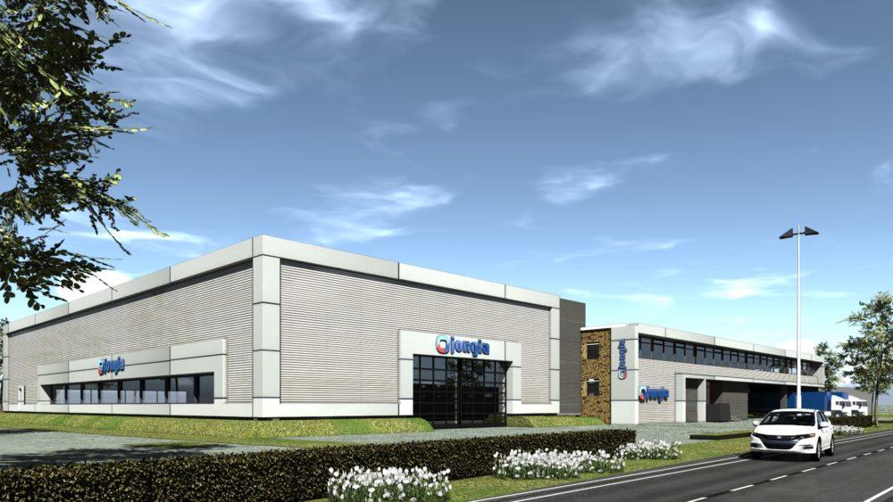 Mega investering bij Jongia door de aandeelhouders - uitbreiding fabriek en nieuwe showroom