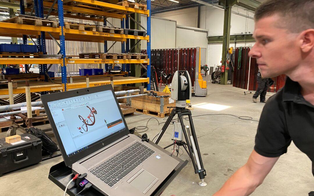 3D scan: voor nauwkeurige maatcontrole van complexe roerwerken