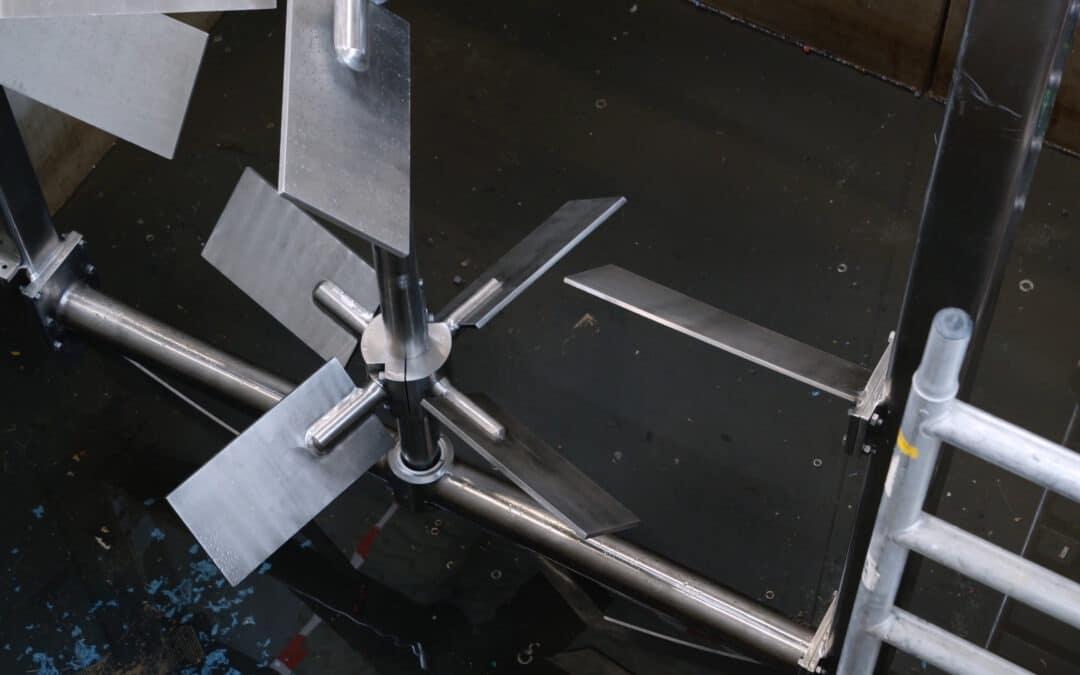 Top entry roerwerk voor de productie van lijm