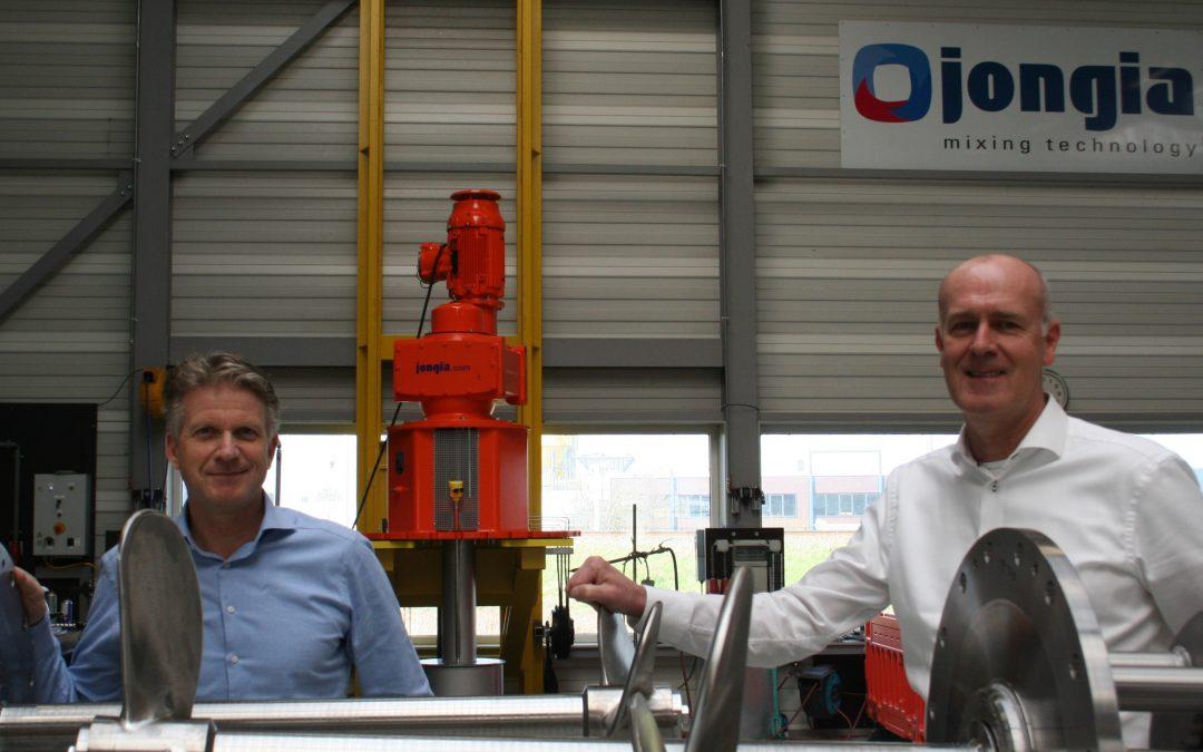 Johan Postma en Tom Pruymboom lichten Friese maakindustrie 5.0 toe.
