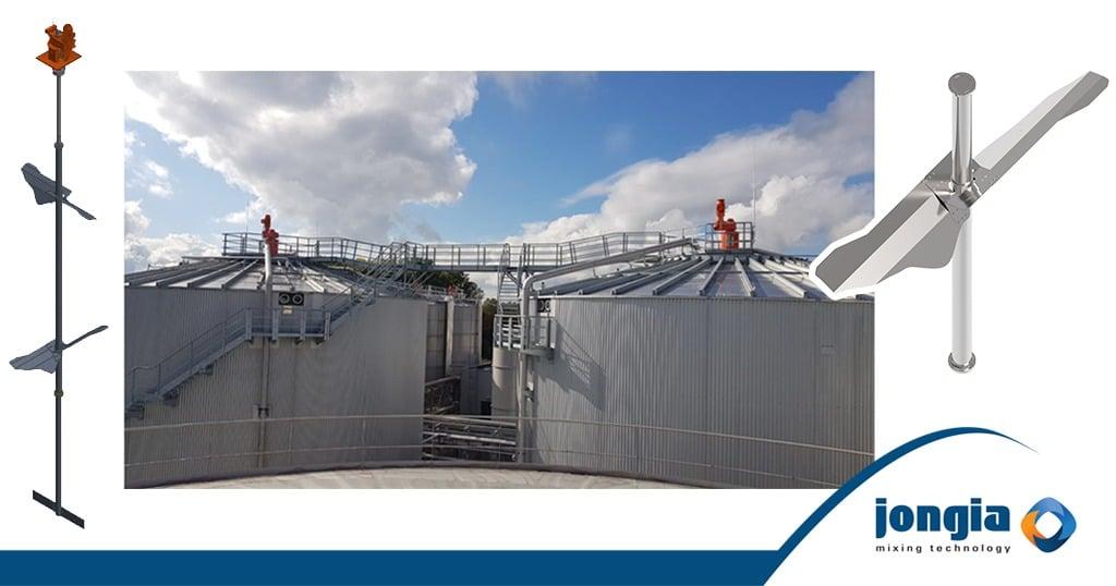 De ontwikkeling van een eigen Biogas-roerwerk